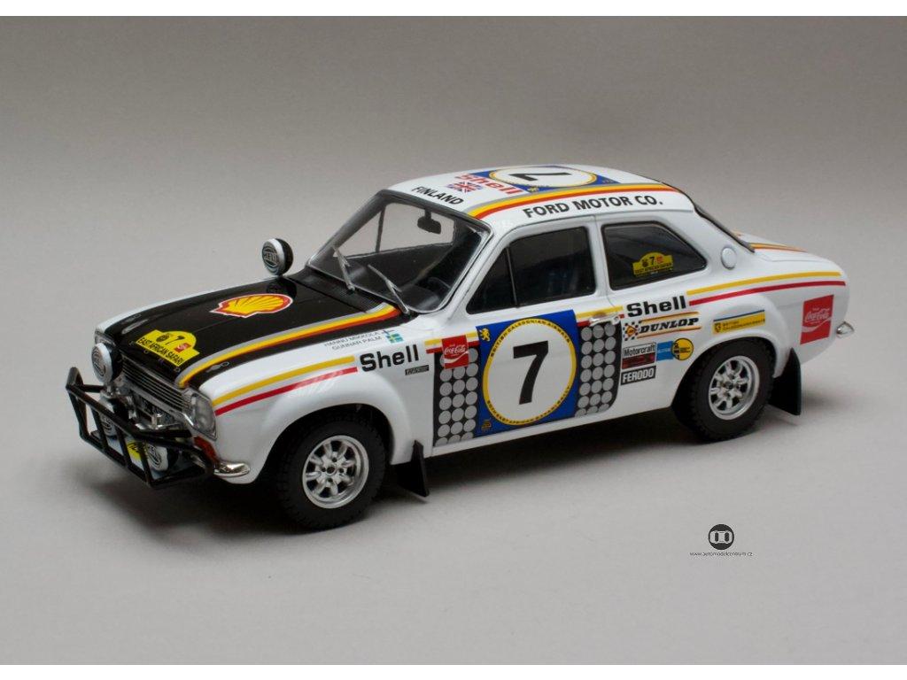 Ford Escort RS 1600 MK1 #7 1972 Rally Safari vítěz 1:18 Triple9 Collection