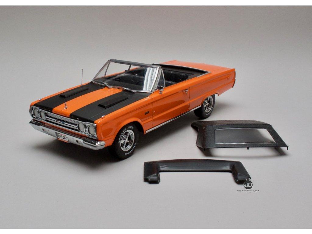 """Plymouth Belvedere GTX 1967 Conv. """"Joe Dirt"""" 1:18 Greenlight"""