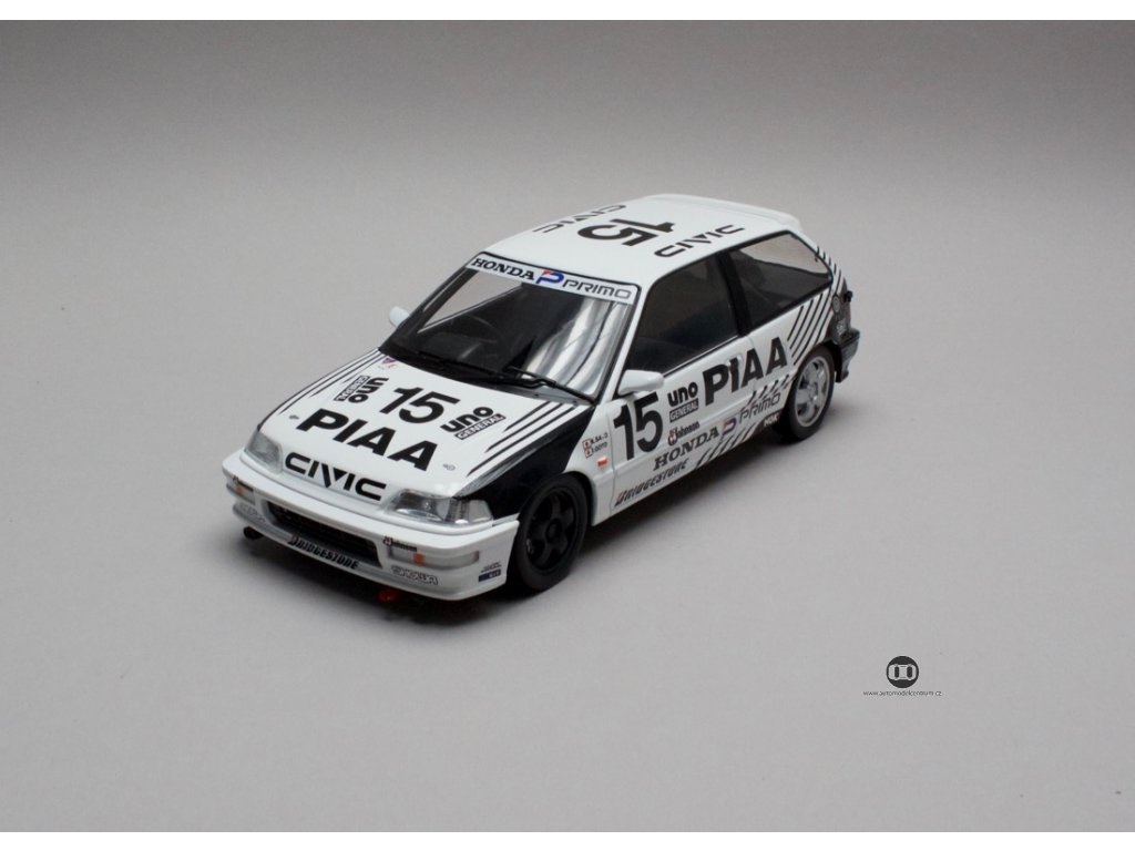 Honda Civic EF 9 1991 # 15 PIAA 1 18 Triple9 Collection 1800102 01