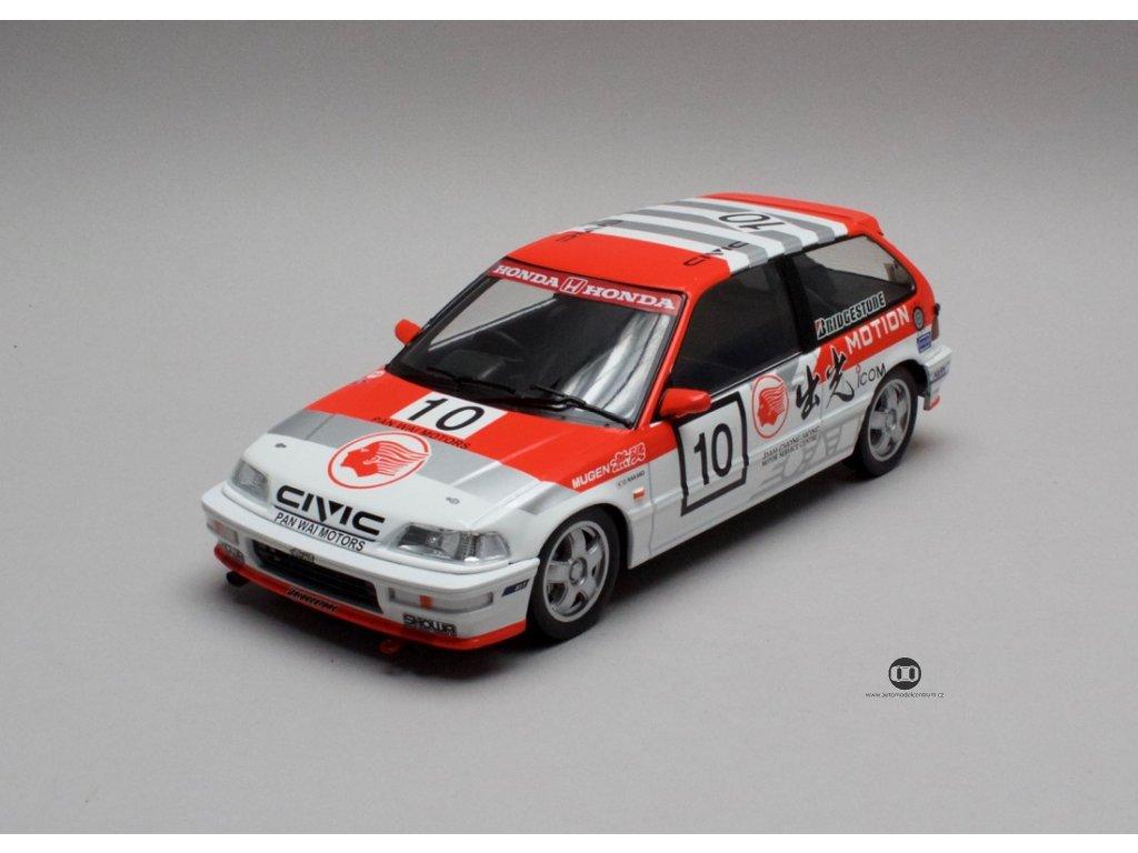 Honda Civic EF 9 1990 # 10 Macau GP 1 18 Triple9 Collection 1800103 01