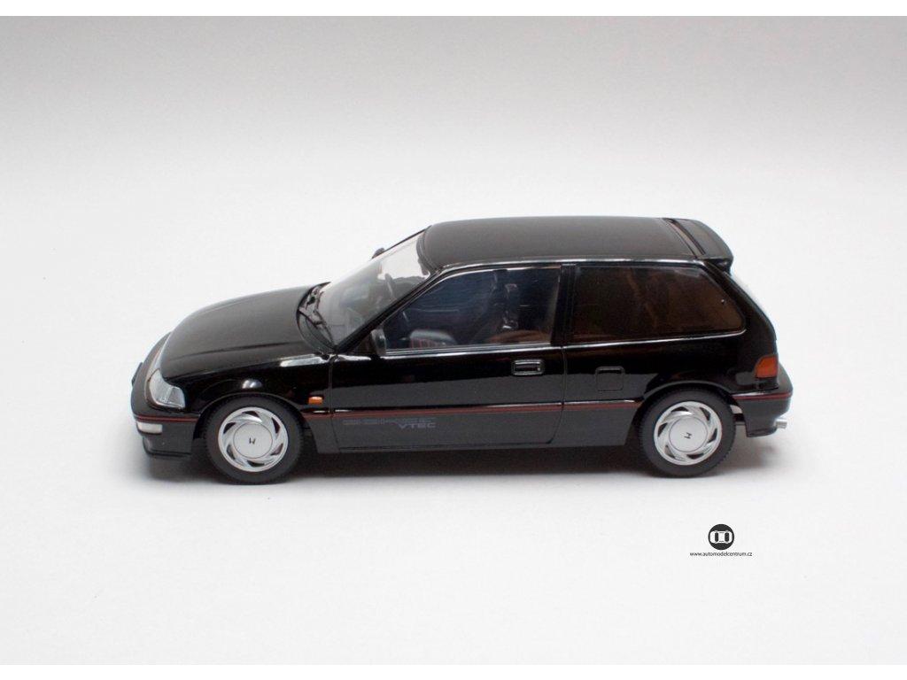 Honda Civic EF 9 SiR 1990 cerna 1 18 Triple9 Collection 1800101 03