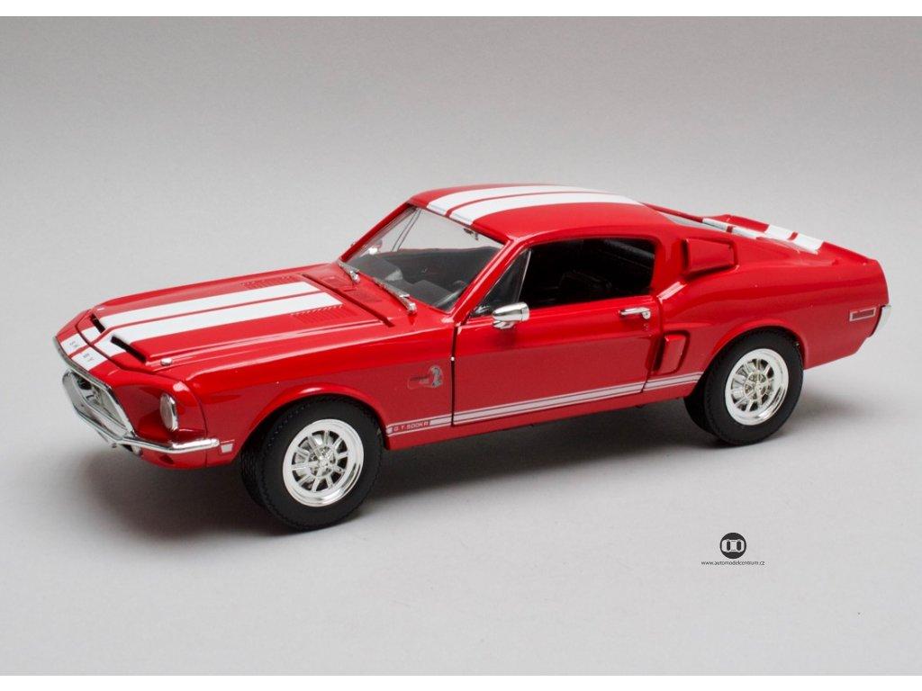 Ford Mustang Shelby GT500KR 1968 červená 1:18 Lucky