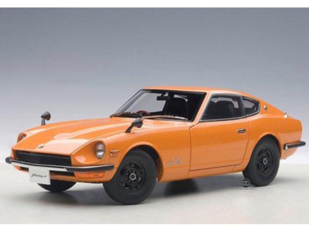 Nissan Fairlady Z432 1969 oranžová 1:18 Auto Art