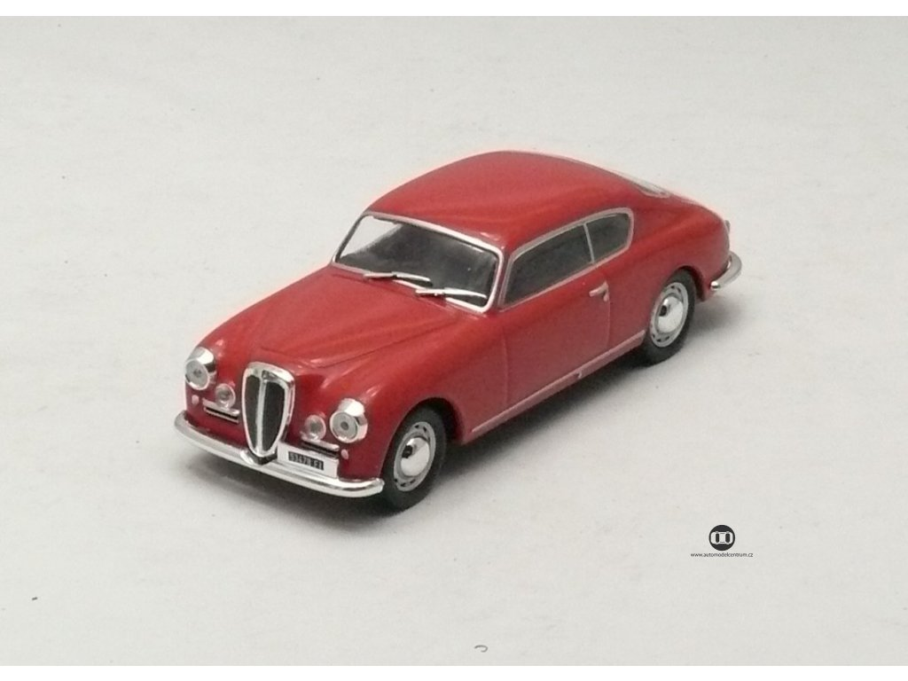 Lancia Aurelia GT 1953 červená 1:43 Car Selection
