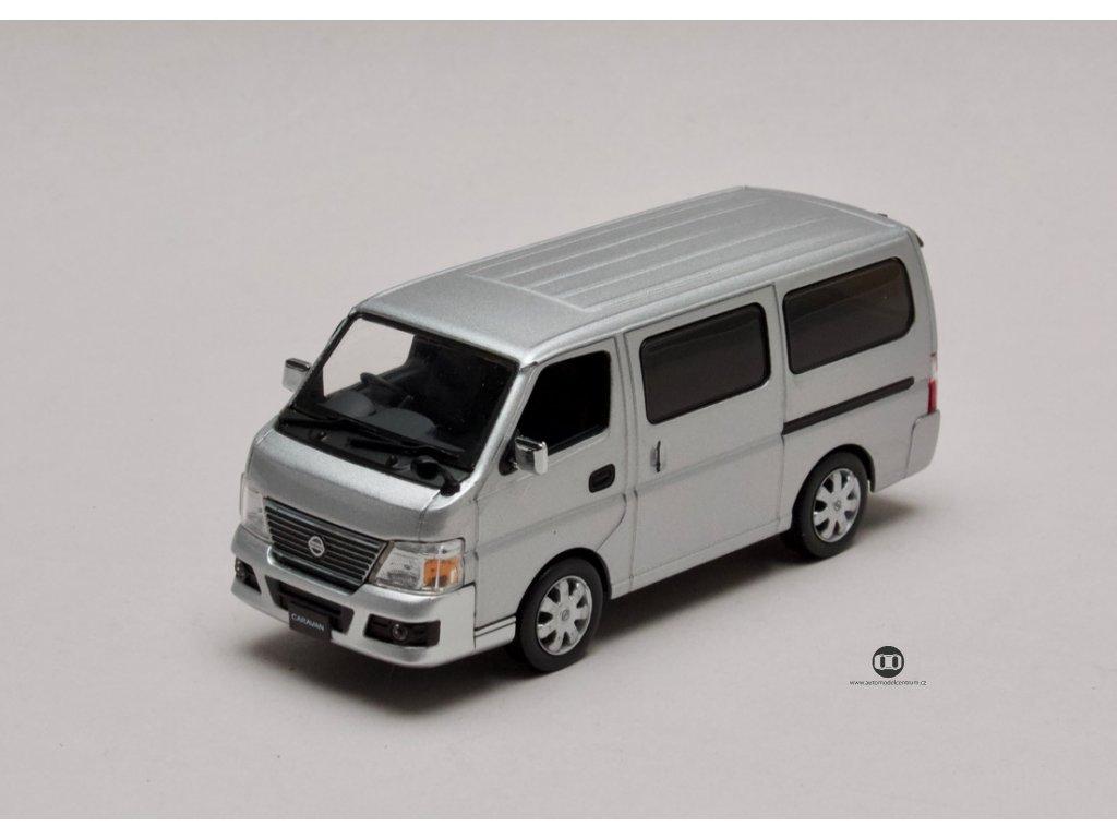 Nissan Caravan E25 stribrna 1 43 Jcollection 80001SL 01