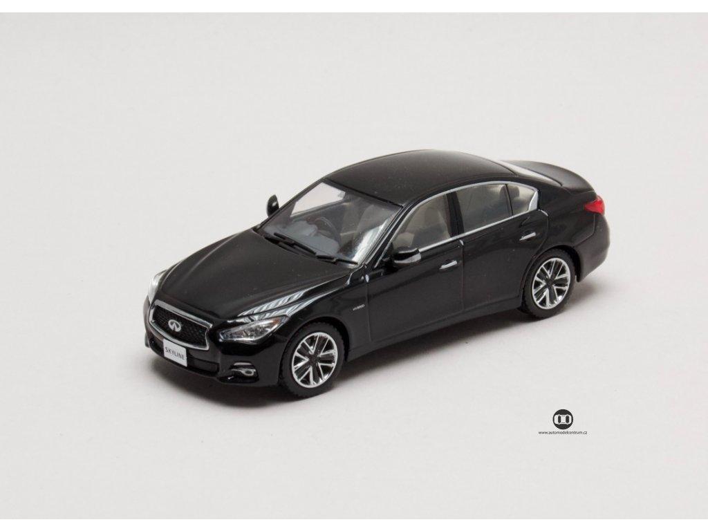 Nissan Skyline 350GT Hybrid Type P 1 43 Jcollection 85003BK 01