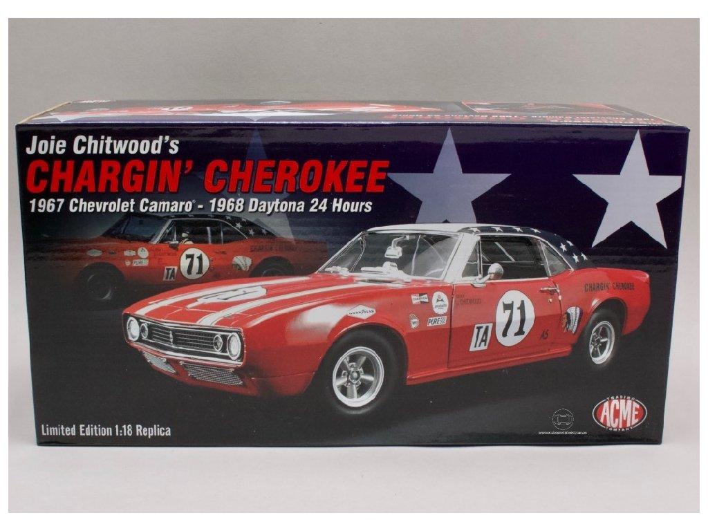 Chevrolet Camaro 1967 #71 Daytona 24 H 1968 Joie Chitwoods 1 18 ACME 1805712 01