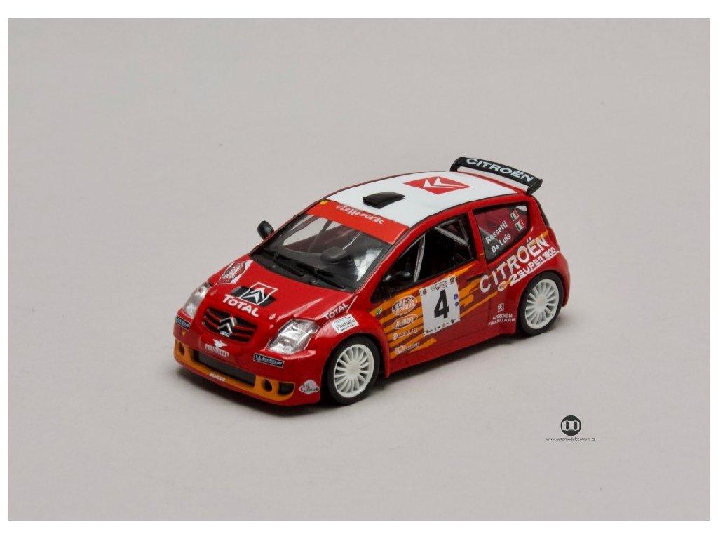 Citroen C2 S1600 #4 Rally Targa Florio 2004 1 43 Champion 01