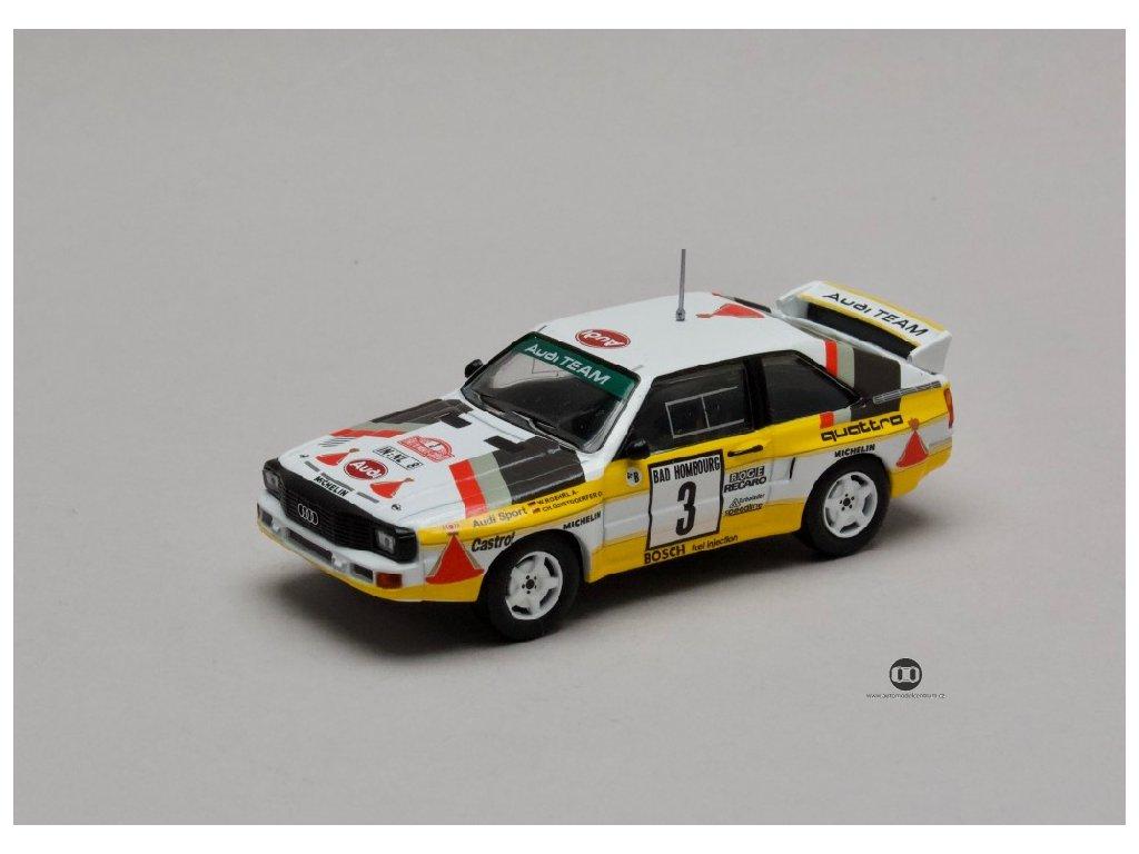 Audi Sport Quattro Ralle #3 Rally Monte Carlo 1985 1 43 Champion 01