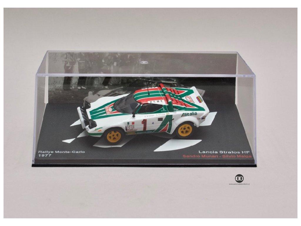 Lancia Stratos HF #1 Rally Monte Carlo 1977 1 43 Champion 01