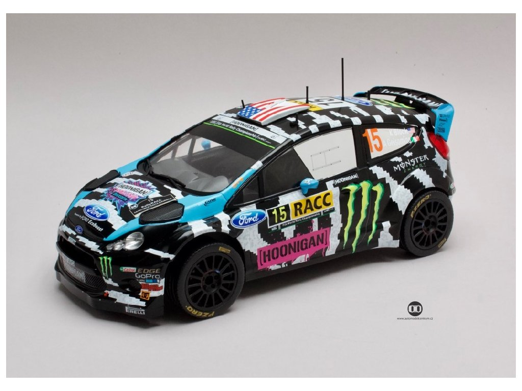Ford Fiesta RS WRC #15 Rally Catalunya 2014 1 18 IXO 18RMC017 01