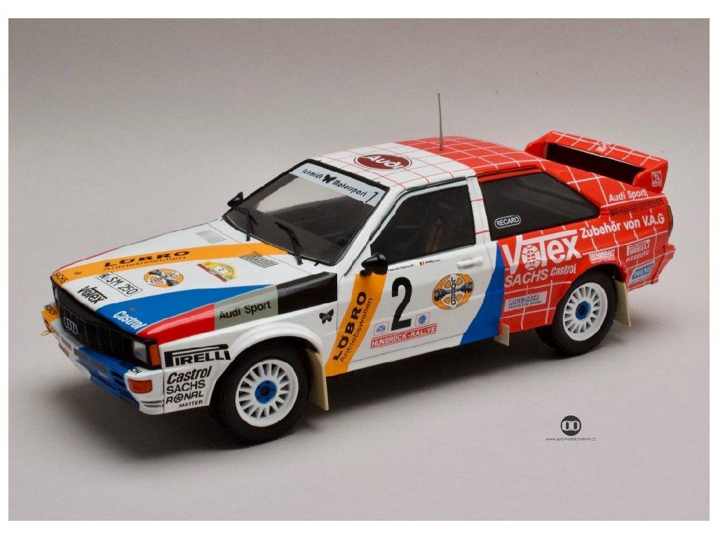 Audi Quattro #2 Rallye Hunsrueck 1984 1 18 IXO 18RMC010 01
