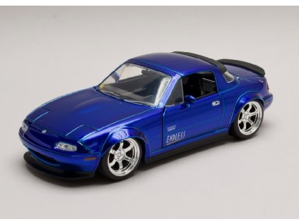 Mazda Miata 1990 modra 1 24 Jada Toys 30942 01