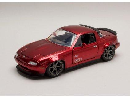 Mazda Miata 1990 cervena 1 24 Jada Toys 30938 01