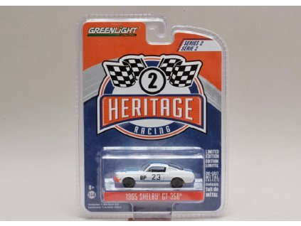 Shelby GT350 1965 #23 Charlie Kemp 1 64 Greenlight 13220D 01