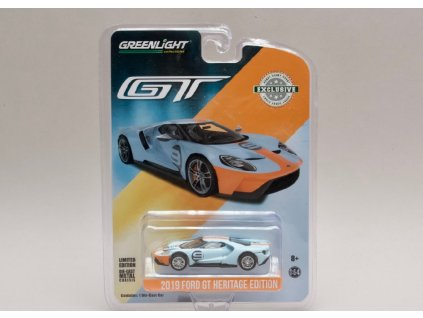 Ford GT 2017 #6 Gulf Racing 1 64 Greenlight 29909 01