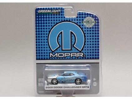 Dodge Challenger SRT8 2009 Mopar edice 1 64 Greenlight 29962 01
