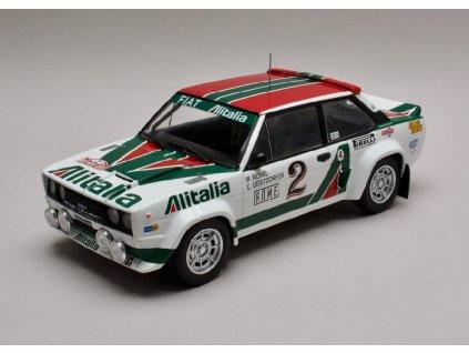 Fiat 131 Abarth #2 Rally Monte Carlo 1978 1 18 IXO 18RMC009 01