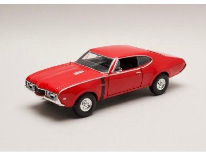 Oldsmobile 442 1968 cervena 1 24 Welly 24024 01