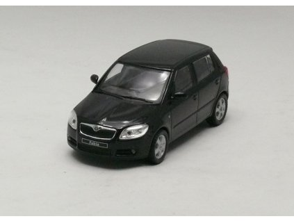 Škoda Fabia Htb II černá 1 43 Abrex 143AB 008D 01