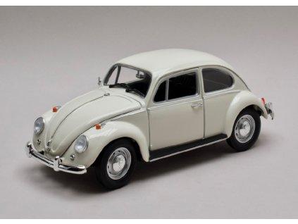 Volksvagen Beetle 1967 pravostranné řízení bílá 1 18 Greenlight 13510 01