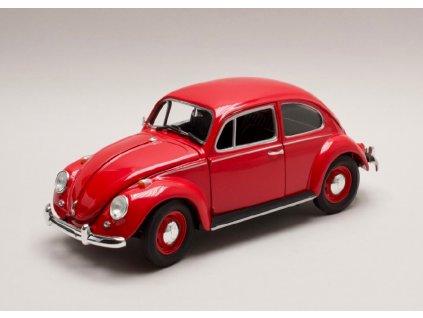 Volksvagen Beetle 1967 pravostranné řízení červená 1 18 Greenlight 13511 01