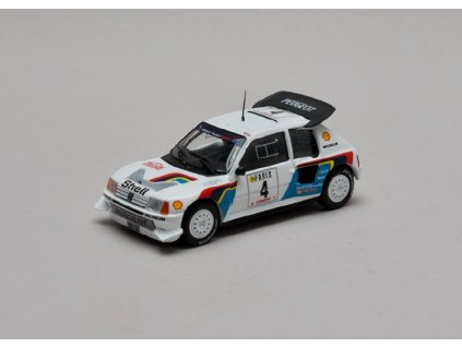 Peugeot 205 Turbo 16 E2 Rally Monte Carlo 1986 1 43 Champion 01