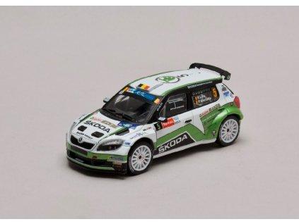 Škoda Fabia S2000 #5 Rally Ypres Belgie 2013 1 43 Champion 01