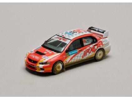 Mitsubishi Lancer Evo IX #33 Rally Sweden 2008 1 43 IXO RAM319 01
