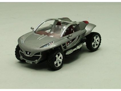 Peugeot Hoggar Concept Car stříbrná 1:43 Magazine models