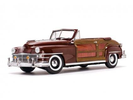 Chrysler Town & Country 1948 hnědá 1 18 Sun Star 6143 01