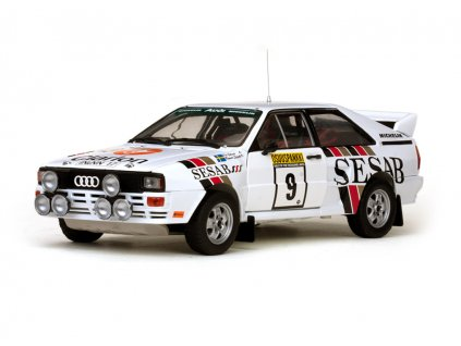 Audi Quattro A2 #9 1000 Lakes Rally 1983 1 18 Sun Star 4230 01
