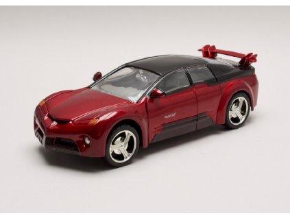 Pontiac Rageous Concept met vínová 1 24 Motor Max 73258 bg Horší lak 01
