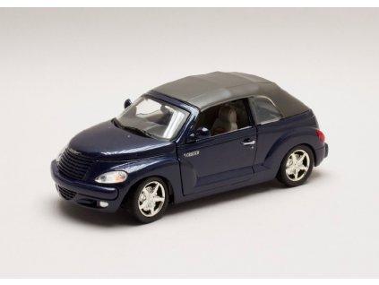 Chrysler PT Cruiser Convertible Styling Study modrá 1 24 Motor Max 73295 b Horší lak 01