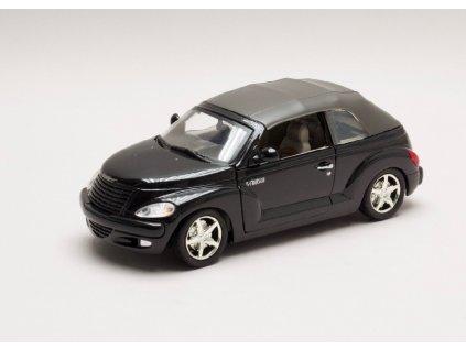 Chrysler PT Cruiser Convertible Styling Study černá 1 24 Motor Max 73295 b Horší lak 01