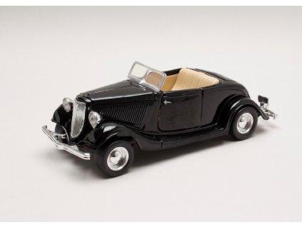 Ford Coupe Convertible 1934 černá 1 24 Motor Max 73218 01