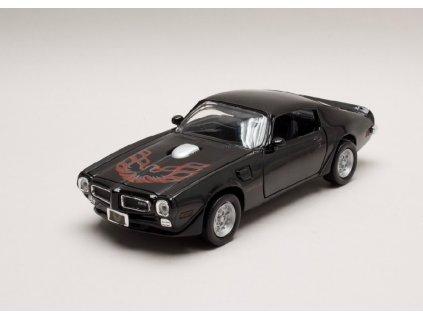 Pontiac Firebird 1973 černá 1 24 Motor Max 73243 01