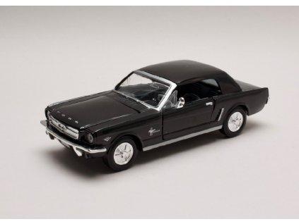Ford Mustang Coupe 1964 1:2 Hard top černá1 24 Motor Max 73273 01