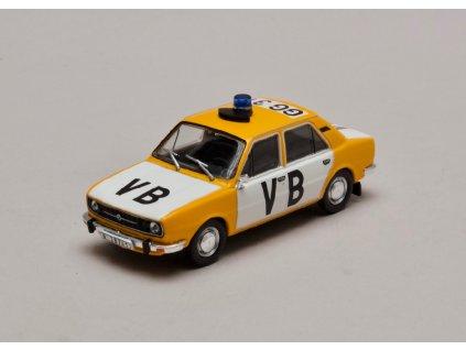 Škoda 105L 1977 úžovka Veřejná Bezpečnost 1 43 Abrex 143ABSX 723XA 01