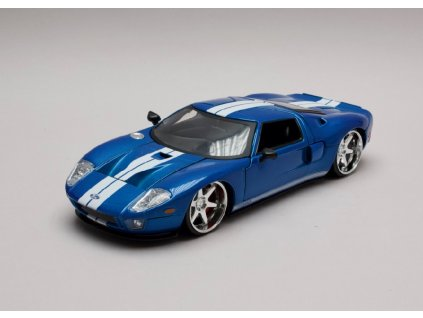 Ford GT 2005 Rychle a zb. (Fast & Furious) 1 24 Jada Toys 90177 01