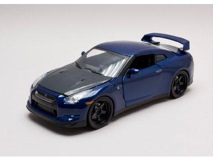 Nissan Skyline GT R 2009 Brian`s Rychle a zb. (Fast & Furious) 1 24 Jada Toys 97036 01