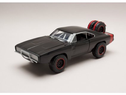 Dodge Charger off road Dom`s Rychle a zb. (Fast & Furious) 1 24 Jada Toys 97038 01