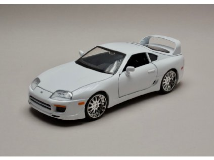 Toyota Supra 1995 Brian`s Rychle a zb. (Fast & Furious) 1 24 Jada Toys 97375 01