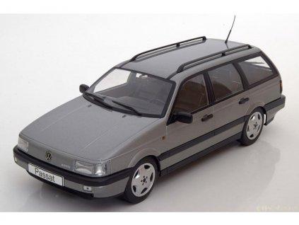Volkswagen Passat VR6 B3 1988 Variant šedá metalíza 1 18 KK scale KKDC180071 01