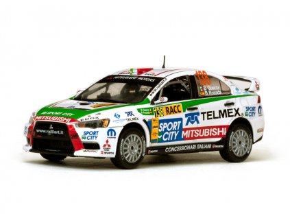 Mitsubishi Lancer EVO X #138 Rally RACC Catalunya 2012 1 43 Vitesse 43448 01