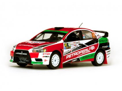 Mitsubishi Lancer EVO X #41 Rally Italia 2013 1 43 Vitesse 43450 01