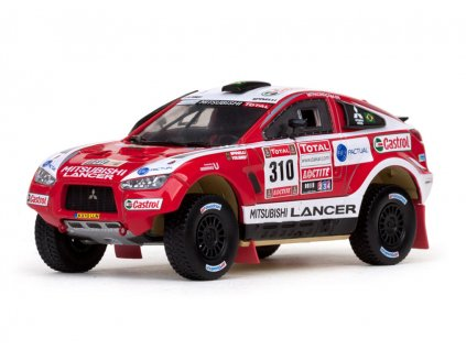 Mitsubishi Racing Lancer #310 Rally Dakar 2012 1 43 Vitesse 43460 01