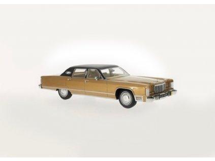 Lincoln Continental Sedan 1975 bronz černá 1 18 BoS Models BoS216 01