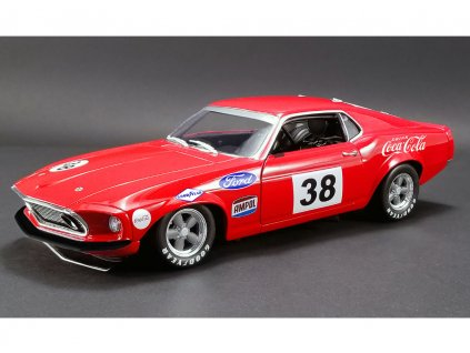 Ford Boss 302 Trans Am Mustang 1969 #38 Allen Moffat's 1 18 ACME 1801828 01