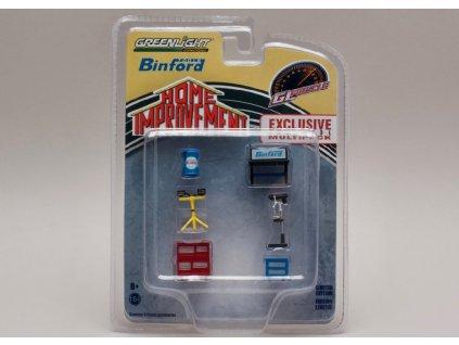 Vybavení dílny Binford 6 dílů 1 64 Greenlight 13175 01
